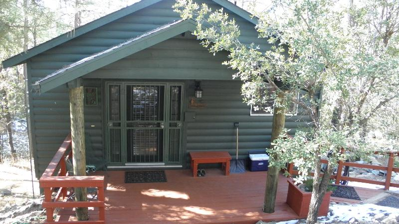 Front Porch - Gorgeous Cabin in the Pines - Prescott - rentals
