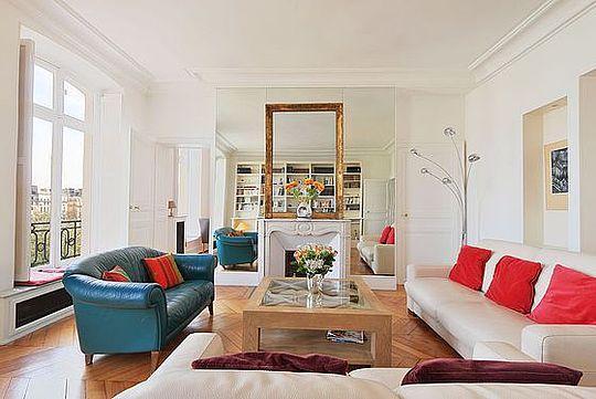 Sejour - 2 bedroom Apartment - Floor area 110 m2 - Paris 5° #4057897 - Paris - rentals