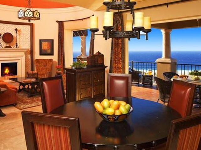 Main floor - Foyer, Living and Dining Rooms - Montecristo Estates, Cabo San Lucas - Cabo San Lucas - rentals