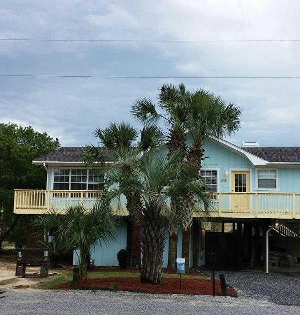 The main house is on stilts with one bedroom down stairs.  Wraparound deck/pool. - Large Home with Private Pool Bikes Included - Santa Rosa Beach - rentals