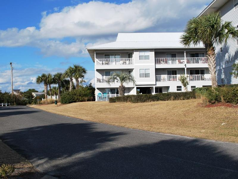 Building 1 is just steps from the beach down this dead end road to beach access. - Beachside- Best Condo ground floor Bldg 1 - Santa Rosa Beach - rentals