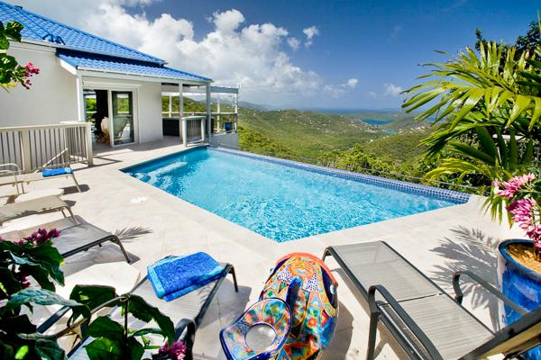 Private Bordeaux Mountain location with ocean views and sea breezes. MAS BOR - Image 1 - Coral Bay - rentals