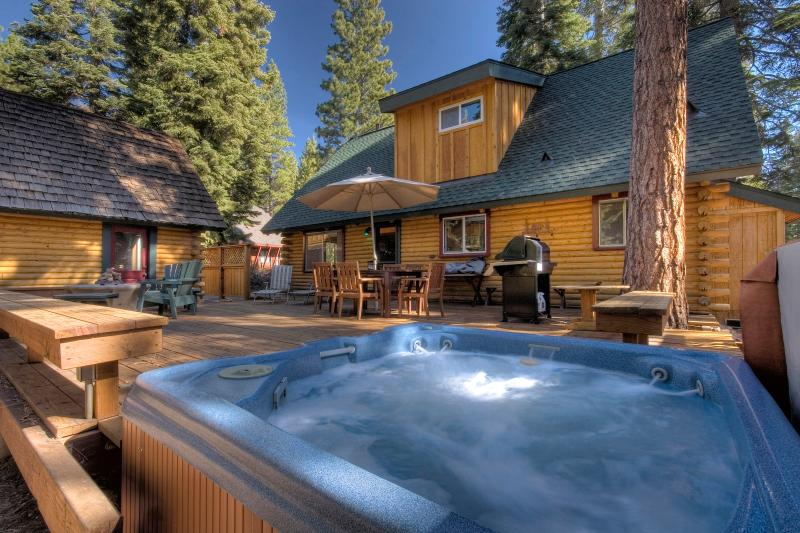 Taylor Dog Friendly Log Cabin Vacation Rental - Image 1 - Lake Tahoe - rentals