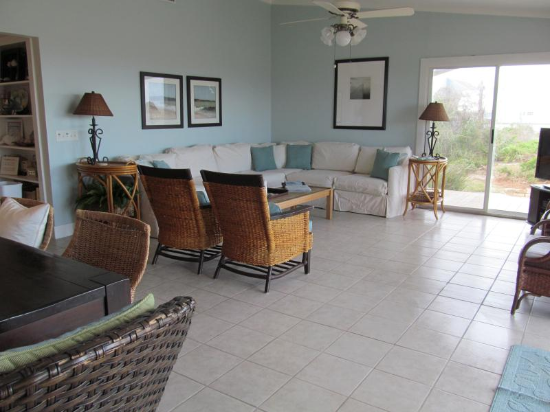 Living Room - Oceanfront Escape - New Listing - Fernandina Beach - rentals