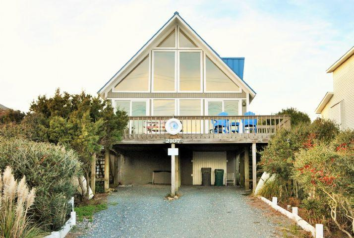 Front of Home  - 1 Grandview - Surf City - rentals