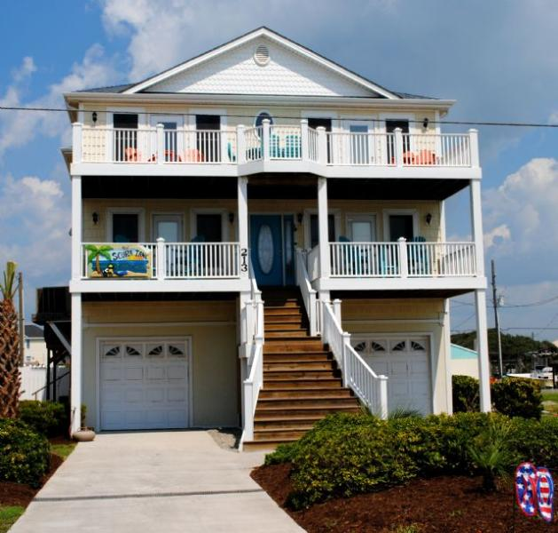 Front View - The Scuba Tank - North Topsail Beach - rentals