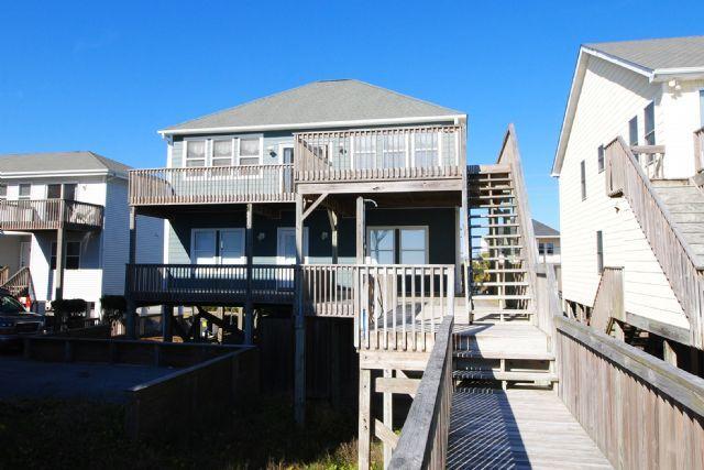 Back decks - Surf Monkeys - Surf City - rentals