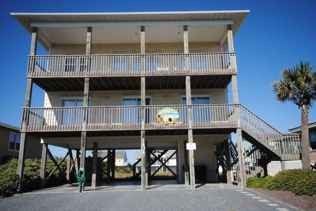 Front - Good Day Sunshine - Topsail Island - rentals