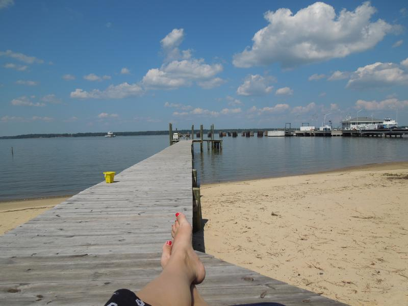 There aren't many front yards like this! - Fabulous Mid Century Beach Retreat on James River! - Williamsburg - rentals