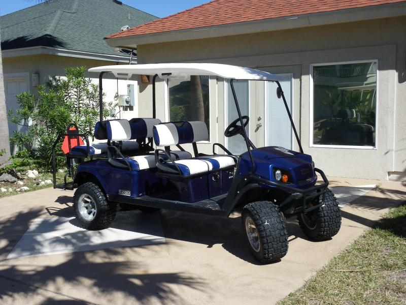 Six Seat Golf Cart Included - Sandy Lane Getaway! -- Six Seat Golf Cart Included - Port Aransas - rentals