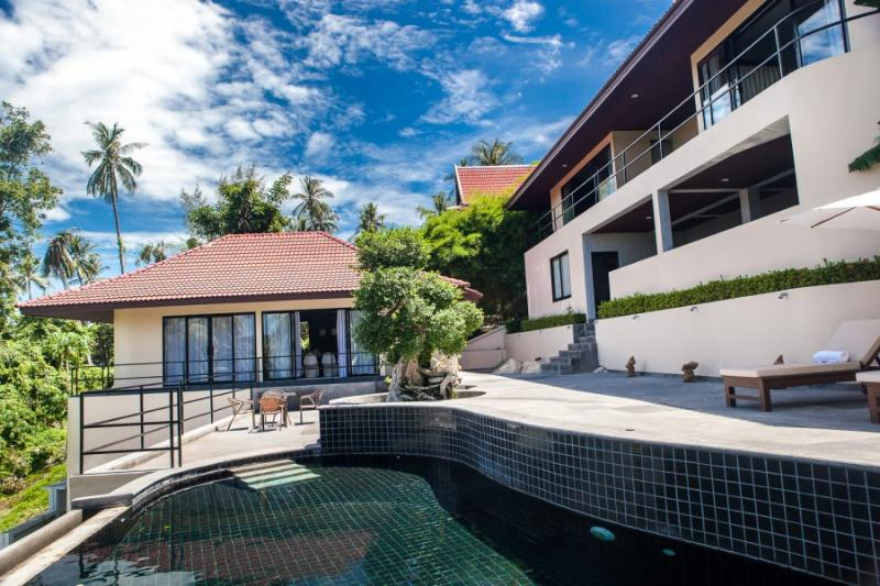 Villa Eveline, Sunset Sea View 3 Bedroom Villa - Image 1 - Ban Bang Makham - rentals