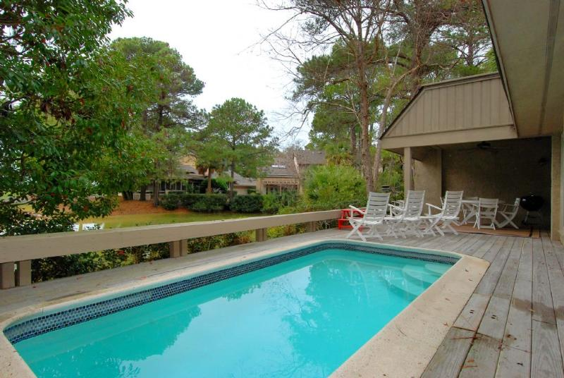 Pool  - 32 Windjammer Court - Hilton Head - rentals