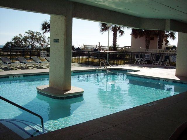 Beautiful main pool - Upscale 3 Br 3 Ba,Oceanfront- 3 Pools - North Myrtle Beach - rentals