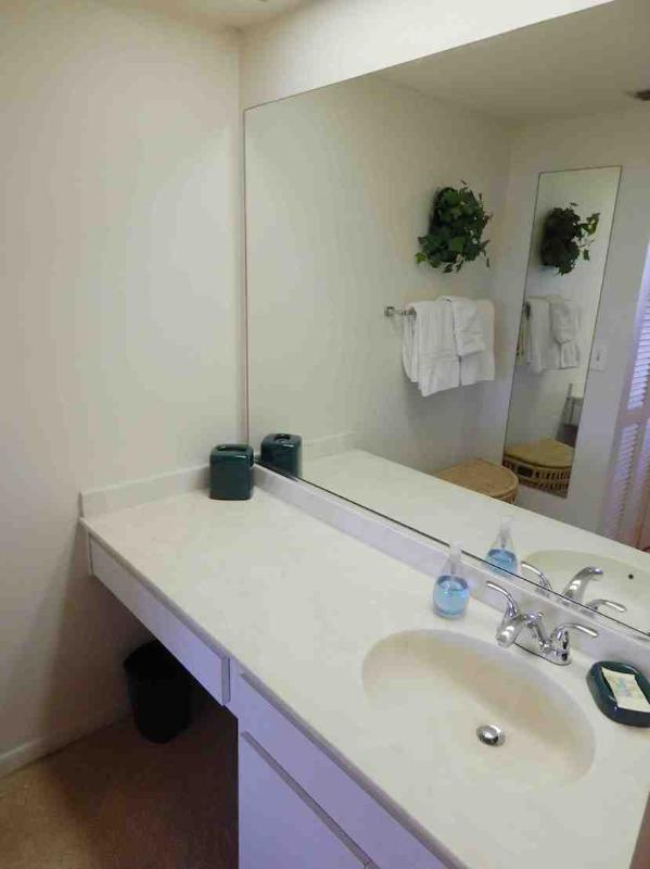 Bathroom 1 - Gulfside Mid-Rise Unit 302F - Siesta Key - rentals