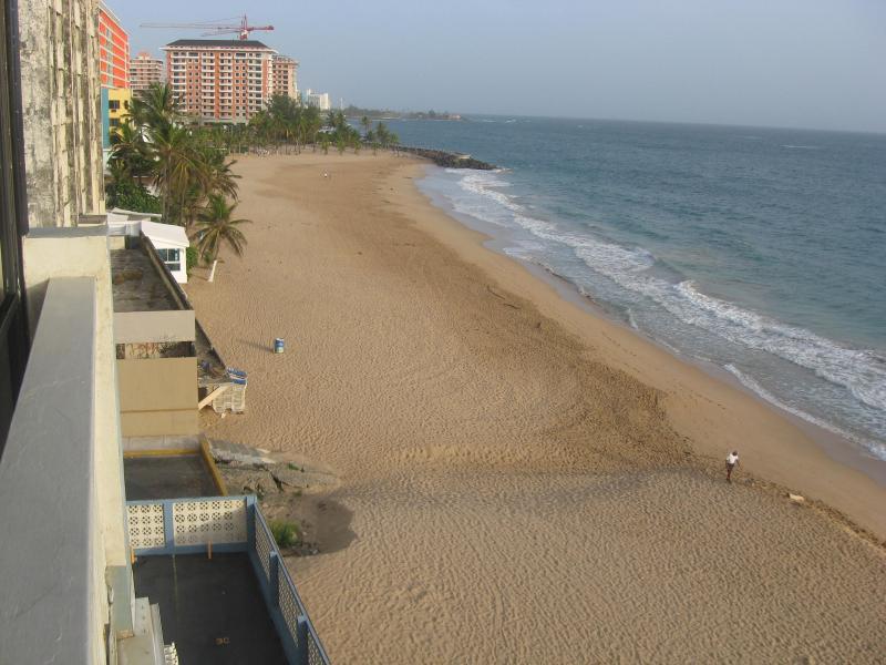 Oceanfront Condo next to Marriott Hotel Condado - Image 1 - Miramar - rentals
