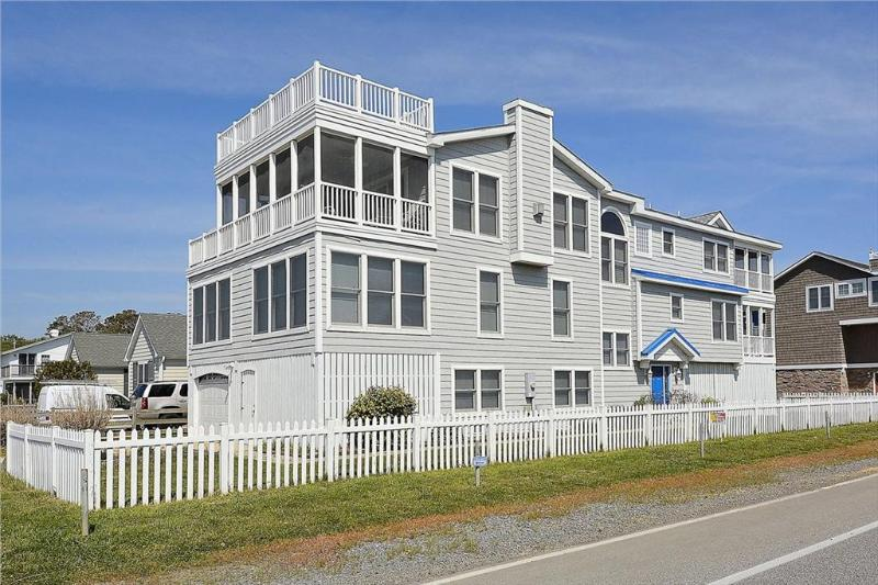Luxury 6 bedroom beach house with sensational ocean views. Close to the beach! - Image 1 - Bethany Beach - rentals