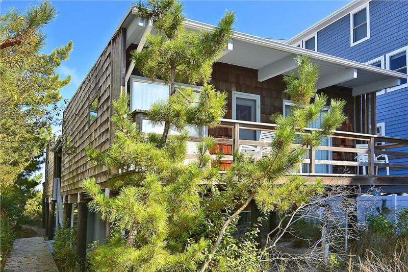 Oceanfront, 4 bedroom, 2 bath home. Large deck facing the ocean - Image 1 - Bethany Beach - rentals