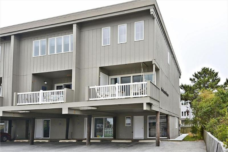 Just steps from the ocean with a view of the beach and ocean from the upper deck. 4 bedrooms, 3.5 baths townhouse - Image 1 - Bethany Beach - rentals