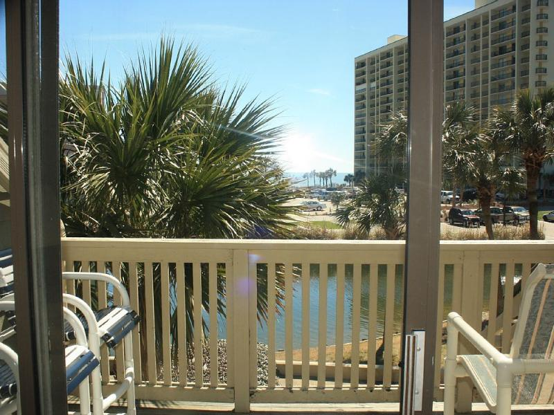 Balcony with a view - Fall Specials Upscale 2 Bed, 2 Bath w/ Ocean Views - Myrtle Beach - rentals