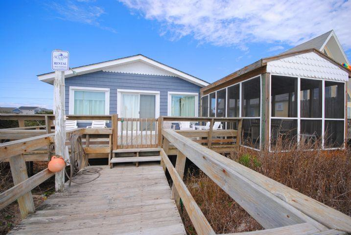 Oceanfront View Whale Song - Whale Song - Surf City - rentals