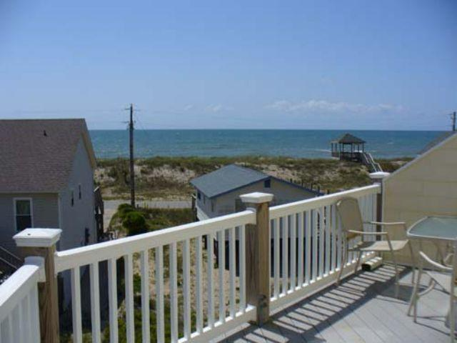 View of Ocean and Beach Access - Summer Winds 110 - Surf City - rentals