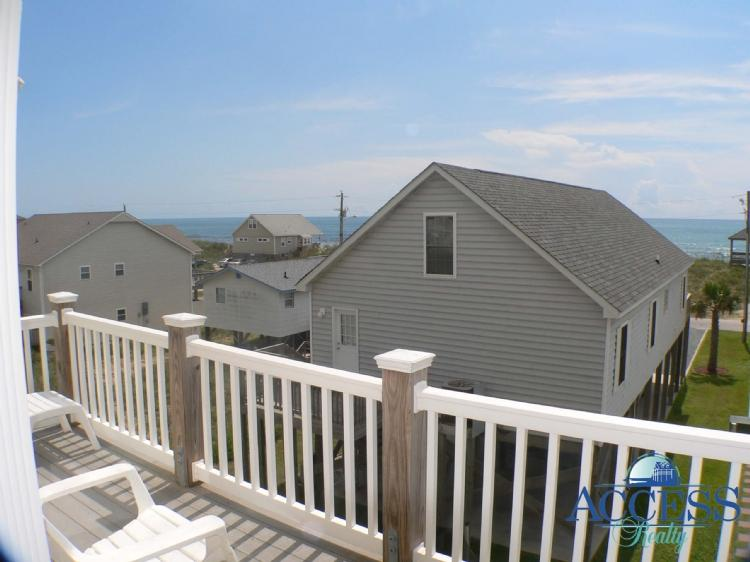 View From Deck - Summer Winds 120 - Surf City - rentals