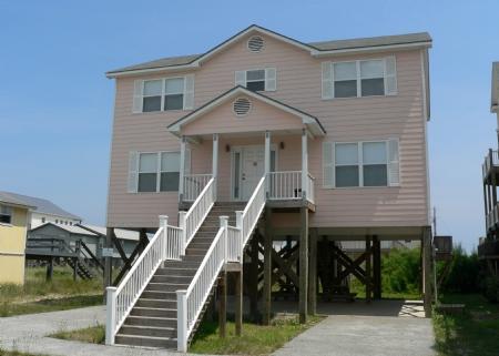 Front Side of Home - Devine Intervention - Surf City - rentals