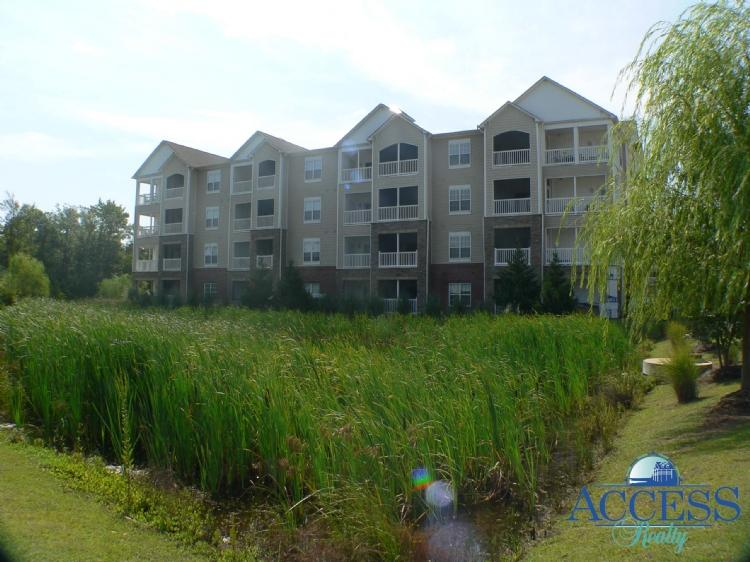 Outside View of Building - Topsail Landing 235 - Surf City - rentals