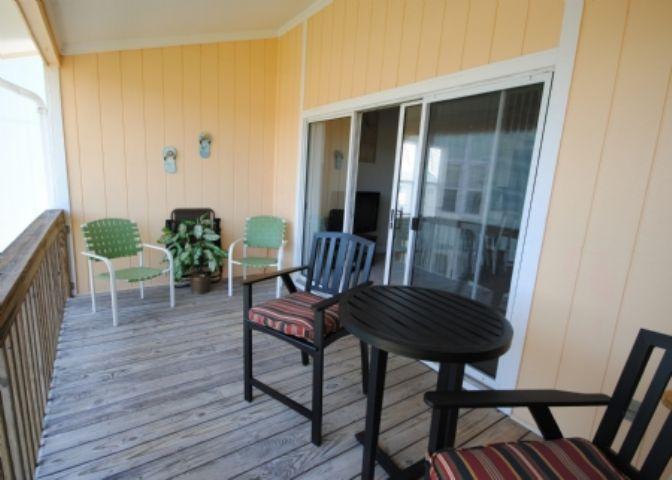 Balcony - Surf Condo 431 - Surf City - rentals