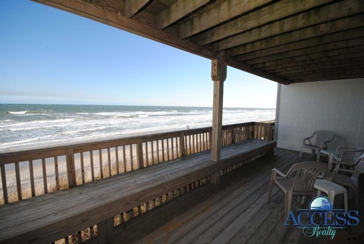 Oceanview and Beach Access - Queen's Grant C-109 - Topsail Beach - rentals