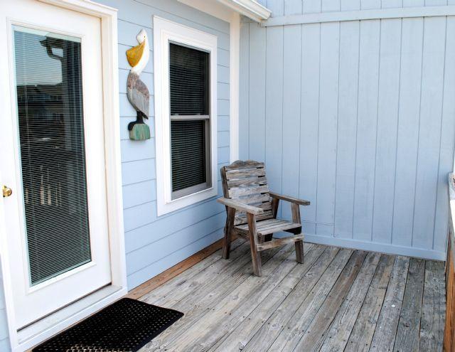 Front Deck - Pelican Perch - North Topsail Beach - rentals