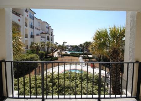 View from Porch - 103B Villa Capriani - North Topsail Beach - rentals
