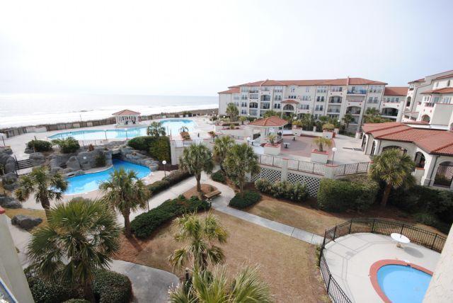 View from Balcony - Villa Capriani 308B - North Topsail Beach - rentals