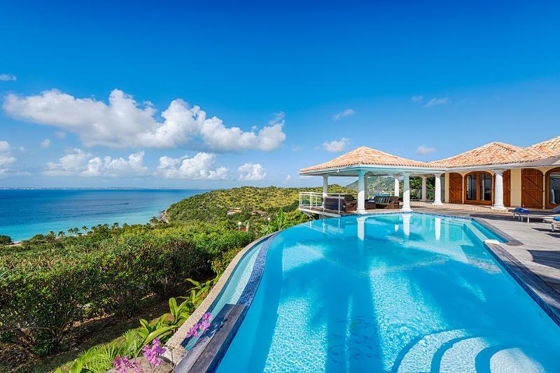Villa Happy Bay at Happy Bay, Saint Maarten - Ocean View, Pool, Walking Distance To Beach - Image 1 - Sint Maarten - rentals