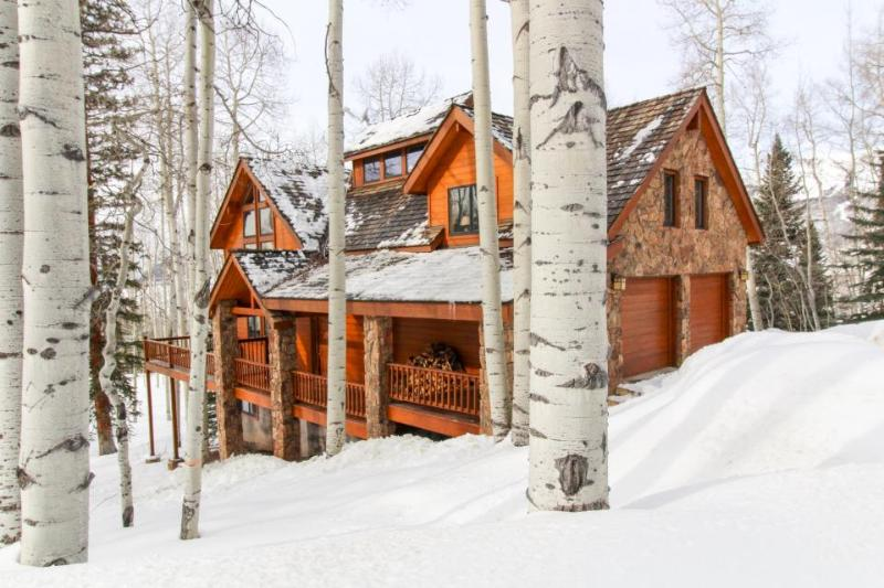 Luxurious home with a guest cabin & hot tub, 3 miles from Telluride Ski Resort! - Image 1 - Telluride - rentals