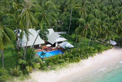 Samui Island Villas - Villa 119 Quiet Sandy Beach - Image 1 - Laem Set - rentals