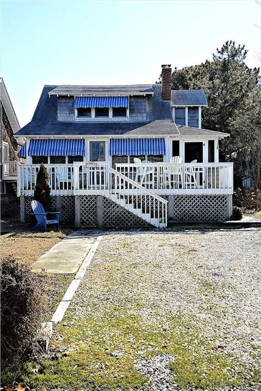 Newly remodeled 4 bed, 3 bath home with large porch and deck - 1 block to the beach! - Image 1 - Bethany Beach - rentals
