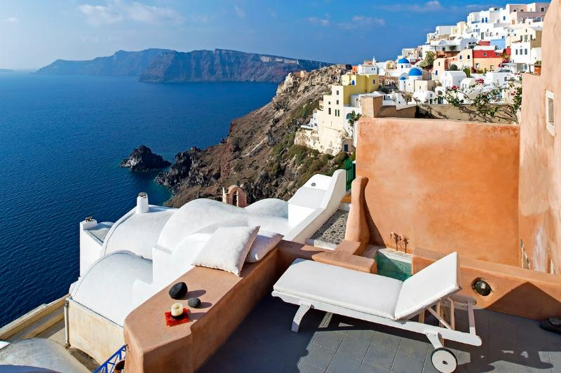 Caldera view - Blue Villas | Oriana | Stylish, Caldera View - Oia - rentals
