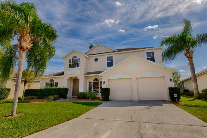 Front of Home - Ridgewood Lakes Frontline Golf Home (816-RID) - Orlando - rentals