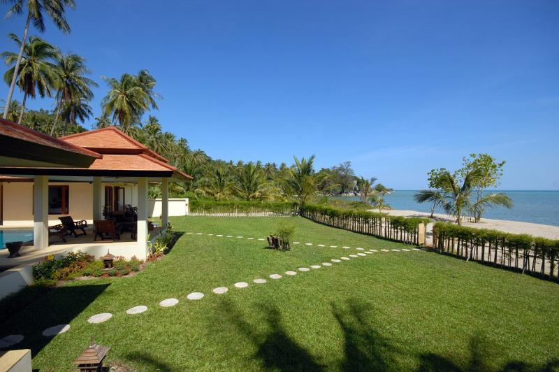 Villa 112 - Beach Front (3 Bedroom Option) - Image 1 - Laem Set - rentals