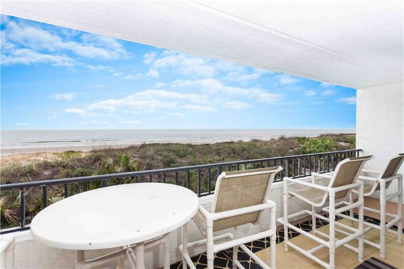 Windjammer 114, 2 Bedrooms, Beach Front, Pool, Elevator, Sleeps 7 - Image 1 - Saint Augustine - rentals
