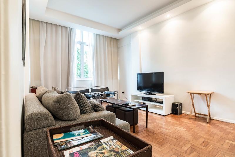 Living Room - New apartement 2' walk from Ipanema Beach - Rio de Janeiro - rentals