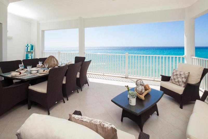 5th floor luxury beachfront condo on the picturesque South Coast of Barbados - Image 1 - Christ Church - rentals
