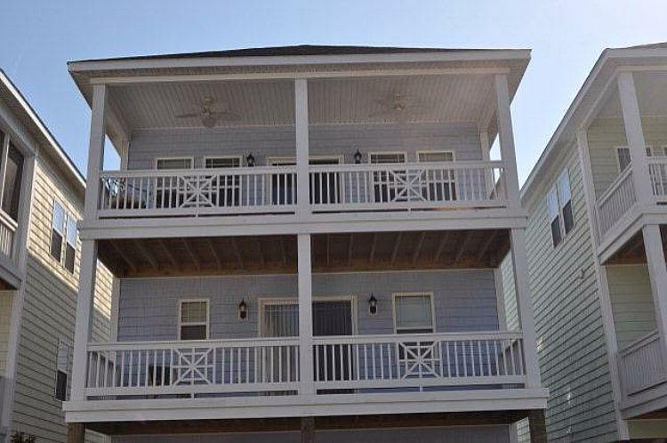 Exterior - Howdy-Do - Stunning Pet Friendly home with Community Pool Access. - Surf City - rentals
