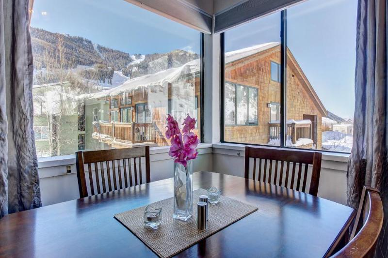 Mountain views, hot tub, & ski locker - 4 blocks to slopes! - Image 1 - Telluride - rentals