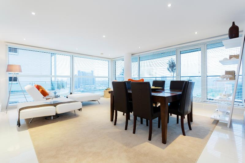 Sleek River View apartment, Aspect Court, Chelsea Harbour, Fulham - Image 1 - London - rentals