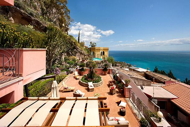 Sicily Villa with Pool for Two Groups in Taormina - Casa Taormina - 11 - Image 1 - Taormina - rentals