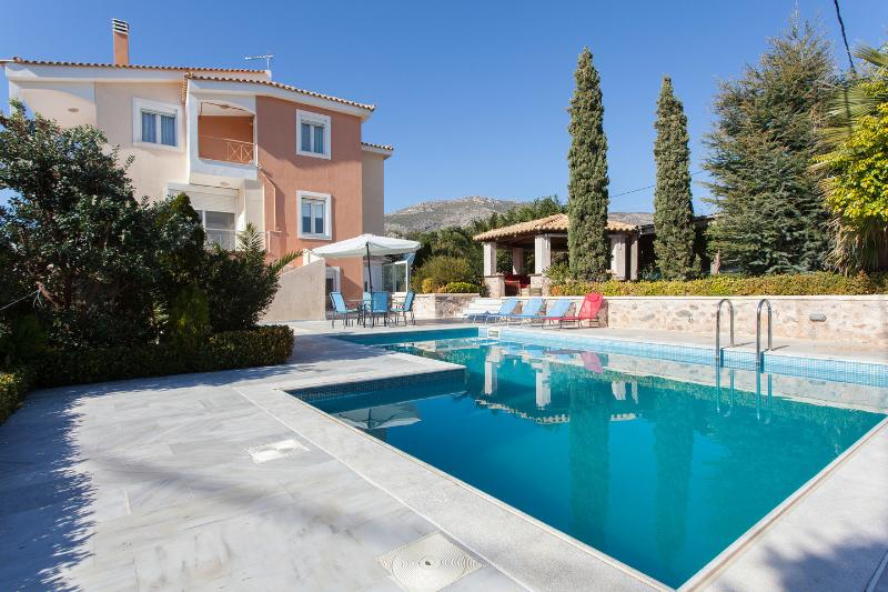 The Pool - Luxury Villa Lagonisi/ SwimPool Beach Car included - Lagonisi - rentals