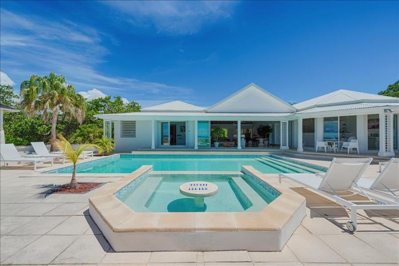 Beachfront 4 bedroom villa at Plum bay beach. - Image 1 - Plum Bay - rentals