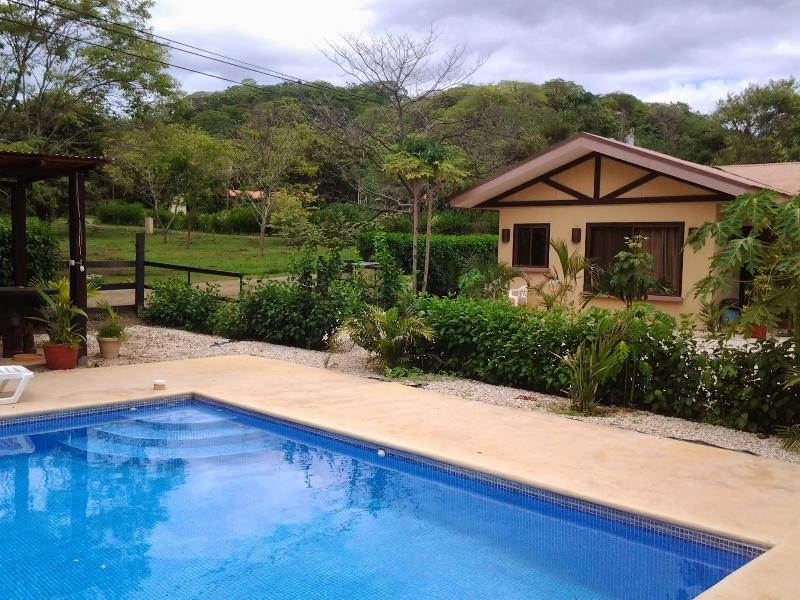 Another shot of the pool and Hidden Valley Estates - Vacation Rental, Karen's Hidden Valley, Huacas - Huacas - rentals